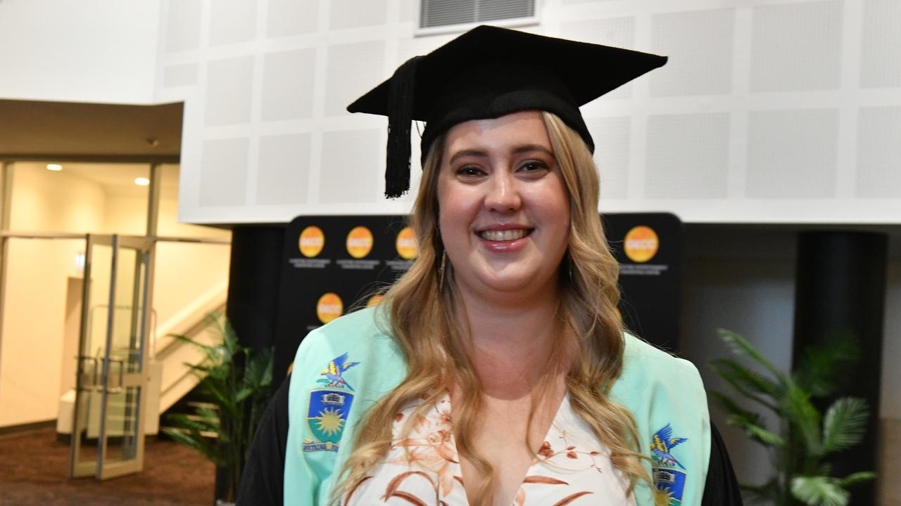 Georgia Holden at the CQ University graduation on February 20, 2020 at the GECC.