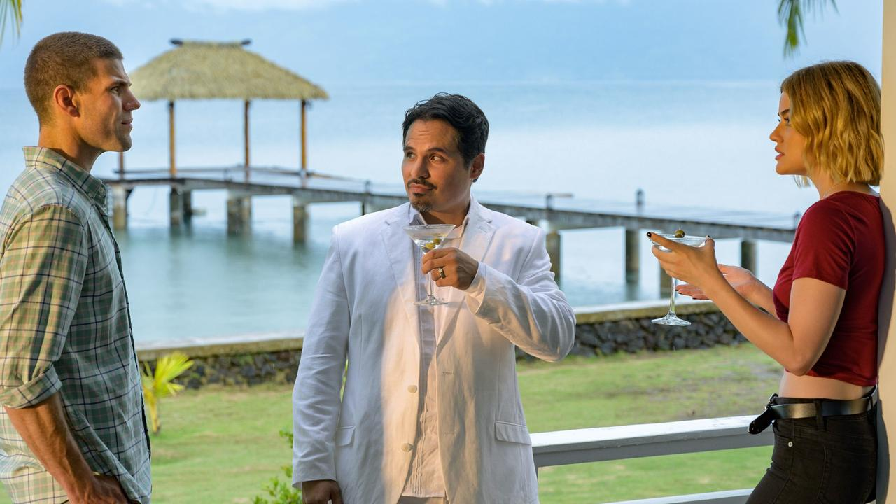 Fantasy Island: This feeble reboot of a cult TV show is bottom of barrel bad. Picture: Sony Pictures Australia