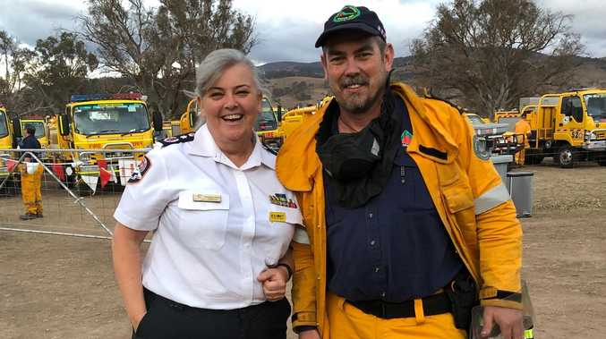 Rain brings hope for fire weary volunteer