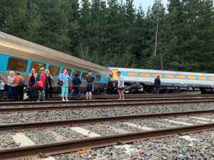 Two dead, several injured after train derails in Victoria