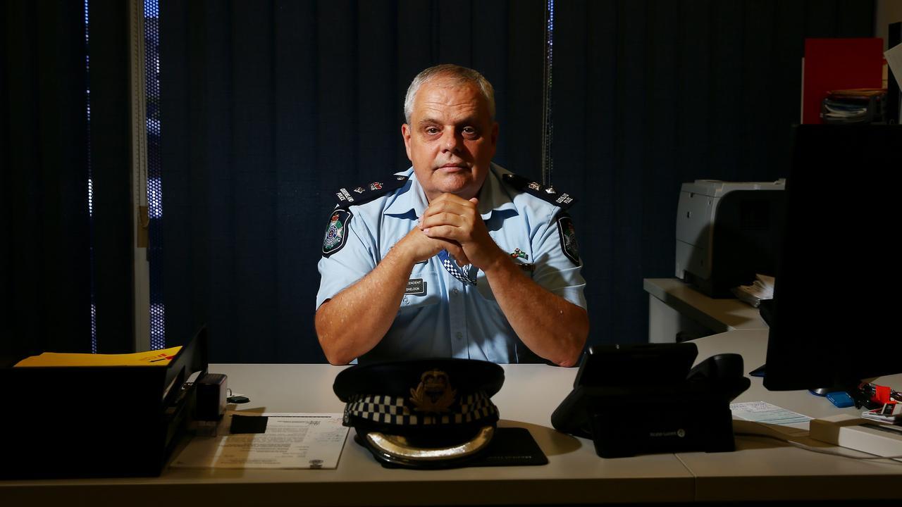 Queensland Police Superintendent Geoff Sheldon. PICTURE: BRENDAN RADKE