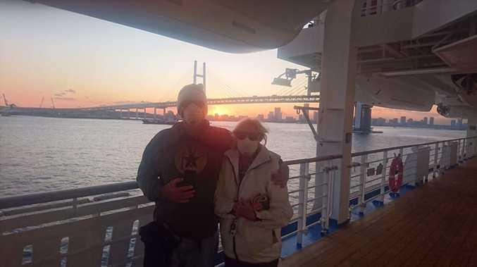 STRANDED: Twist in couple's coronavirus cruise saga
