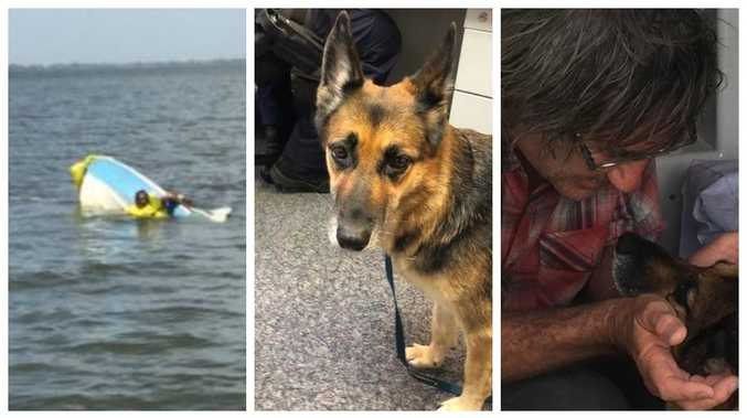 How dog's marathon survival saved life of boatie