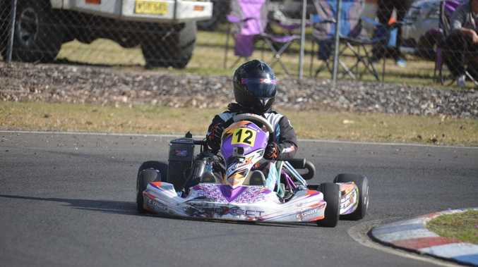 NO SLOWING DOWN: New record at Karting Club