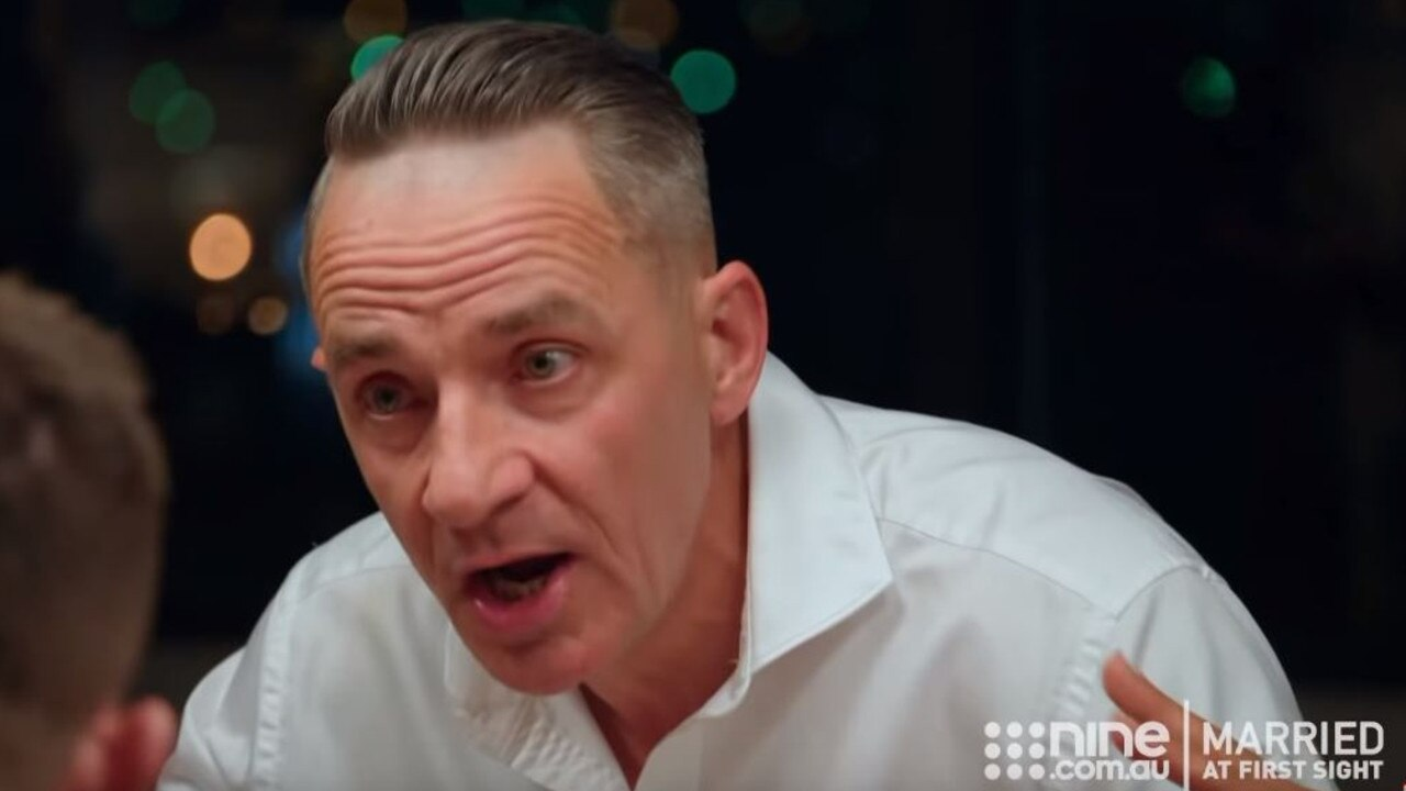 Steve lost his cool on MAFS last night.