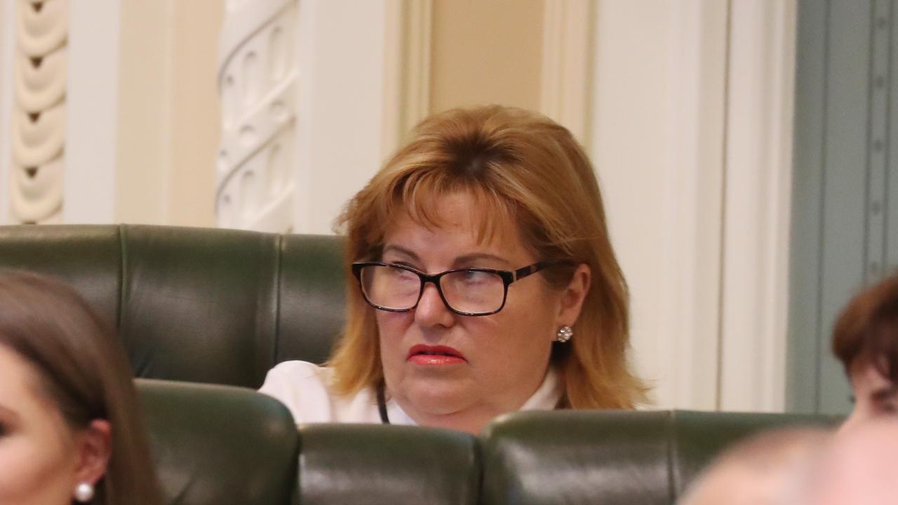 Former Member for Bundamba Jo-Ann Miller in Queensland Parliament. Pic Annette Dew