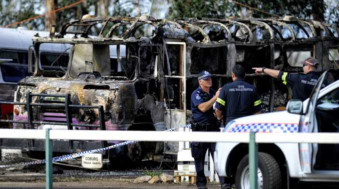 Woman may have been involved in bus fire death: coroner