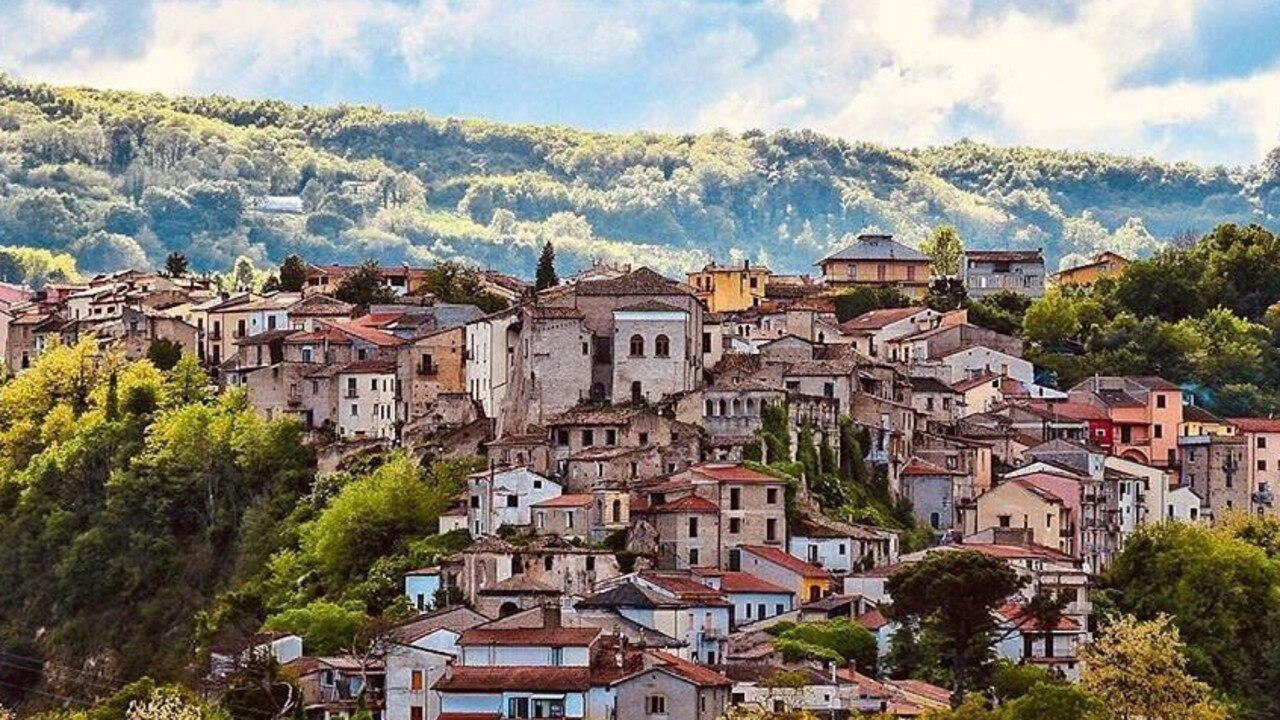 The idyllic Italian village of Teora is paying people to live there. Picture: @paesaggiirpini