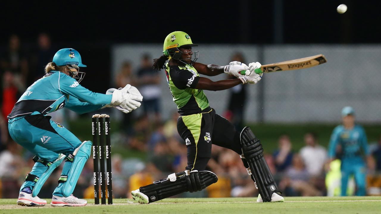 Sydney Thunder's Stafanie Taylor is a superstar of the women's game.