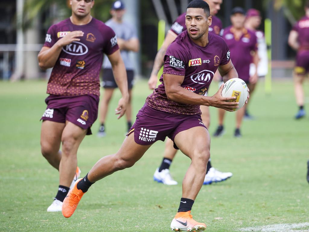 Some of the pre-season gloss has been washed off Jamayne Isaako. Picture: AAP Image/Glenn Hunt