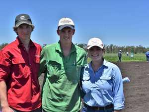 Caleb Milan, Charlie Wells and Mia Bowen Osmond.