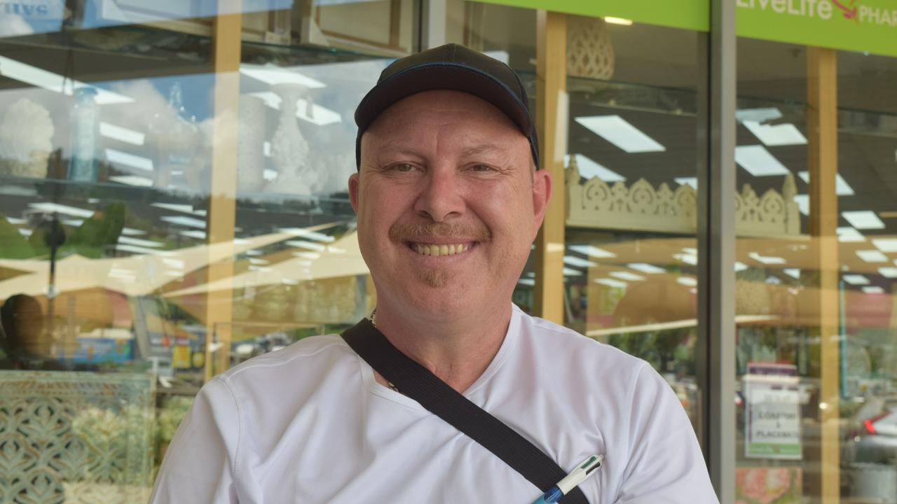 There were plenty of items on the wish list for residents of the Whitsundays coming into the 2020 council election, including David Valla's hopes for better disability services and an old age home. Image: Laura Thomas