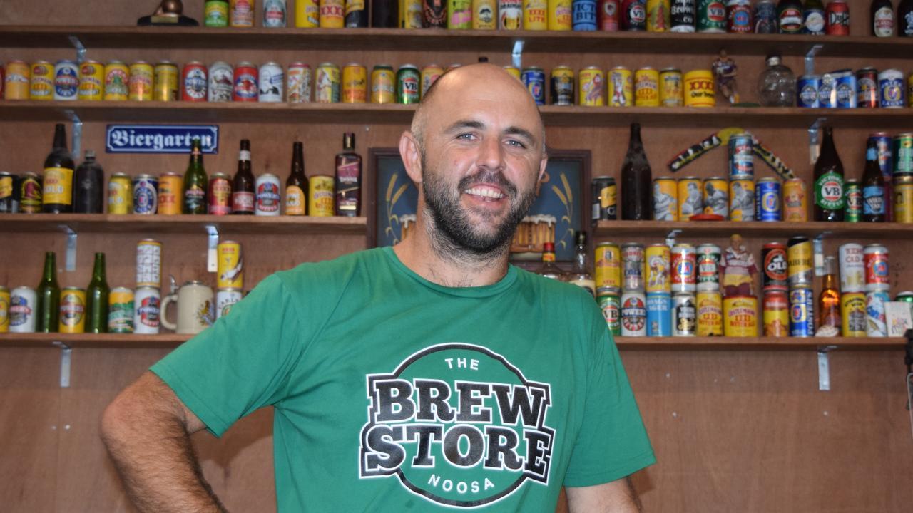 TRUE BREW: Scott Hooper from the Brew Store.