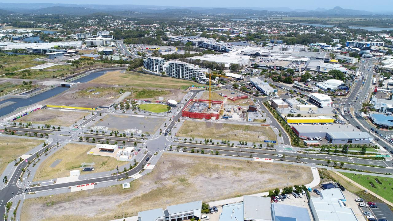 Progress is a word who's definition can be elusive. Maroochydore CBD emerges from the grounds of the former Horton Park Golf Club. Photo: Patrick Woods / Sunshine Coast Daily.