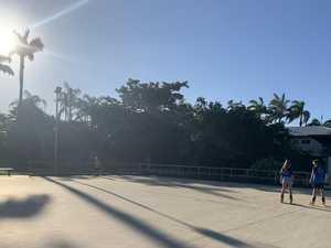 Ann McQueen Skate Rink Opening