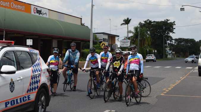 The race is on for Team Biloela