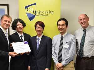 Generous Japanese students giving back in wake of disaster