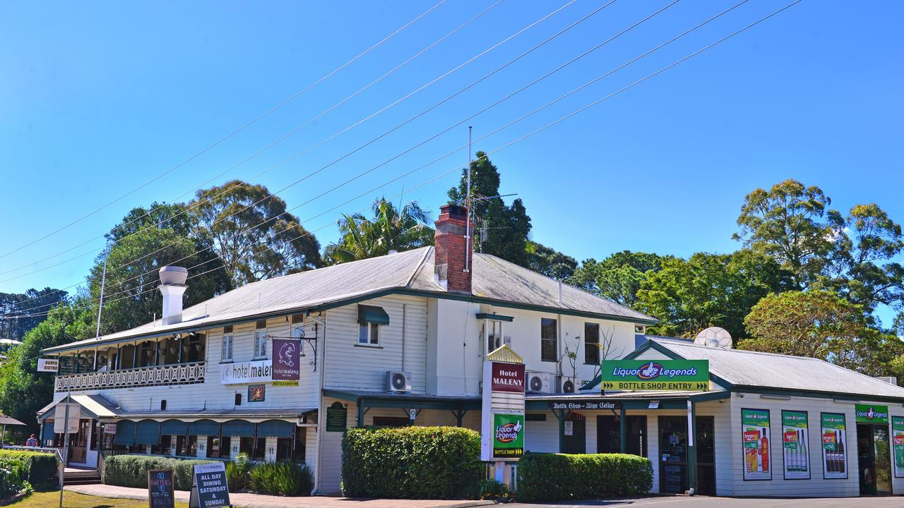 Maleny Hotel was recommended as a local heritage listed place along with dozens of other buildings and locations across the Sunshine Coast.
