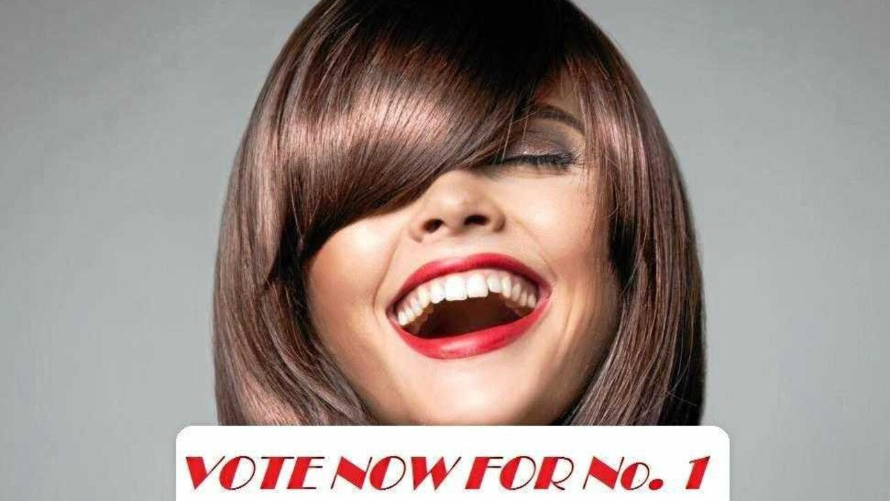 VOTE NOW: Who will take the crown of Gympie's Number 1 hairdresser? Photo: Contributed