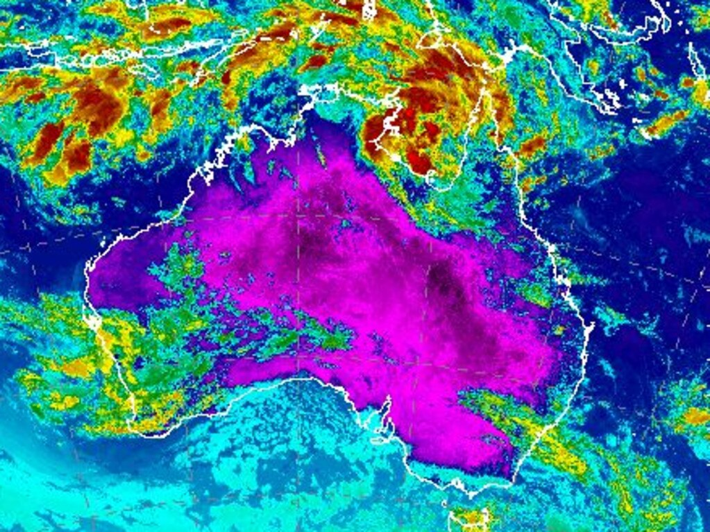 Wet weather is expected to move across parts of Queensland and northern NSW. Picture: Bureau of Meteorology