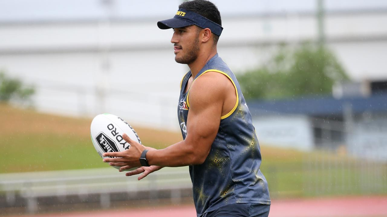 Valentine Holmes says he is stronger and as fast as ever. Picture: Stewart McLean