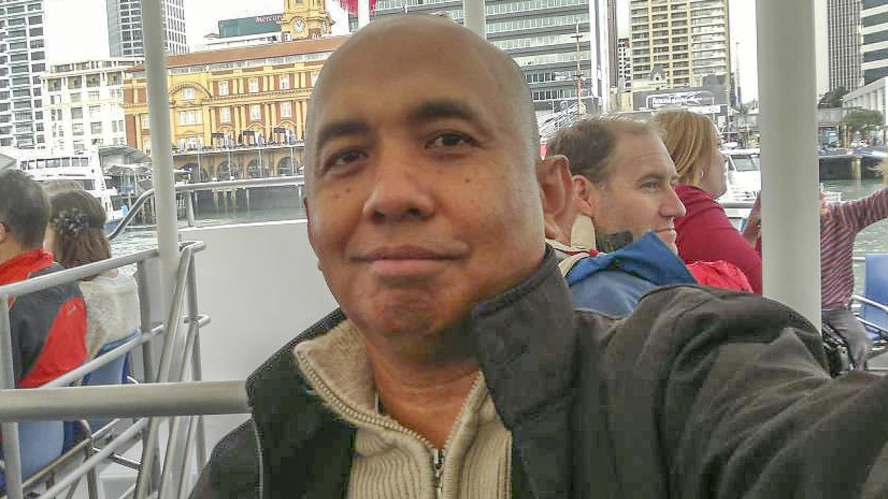 MH370 Captain Zaharie Ahmad Shah and 238 passengers and crew died when the flight went down. File picture