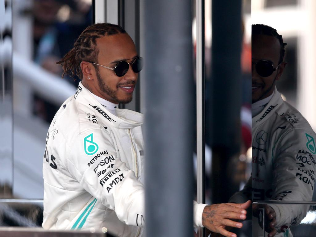 Lewis Hamilton is a step ahead of the game. Picture: Charles Coates/Getty Images
