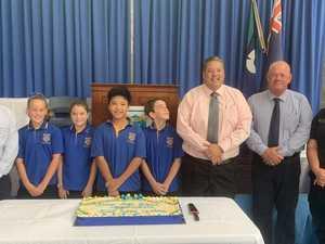 Bowen State School new leaders crowned