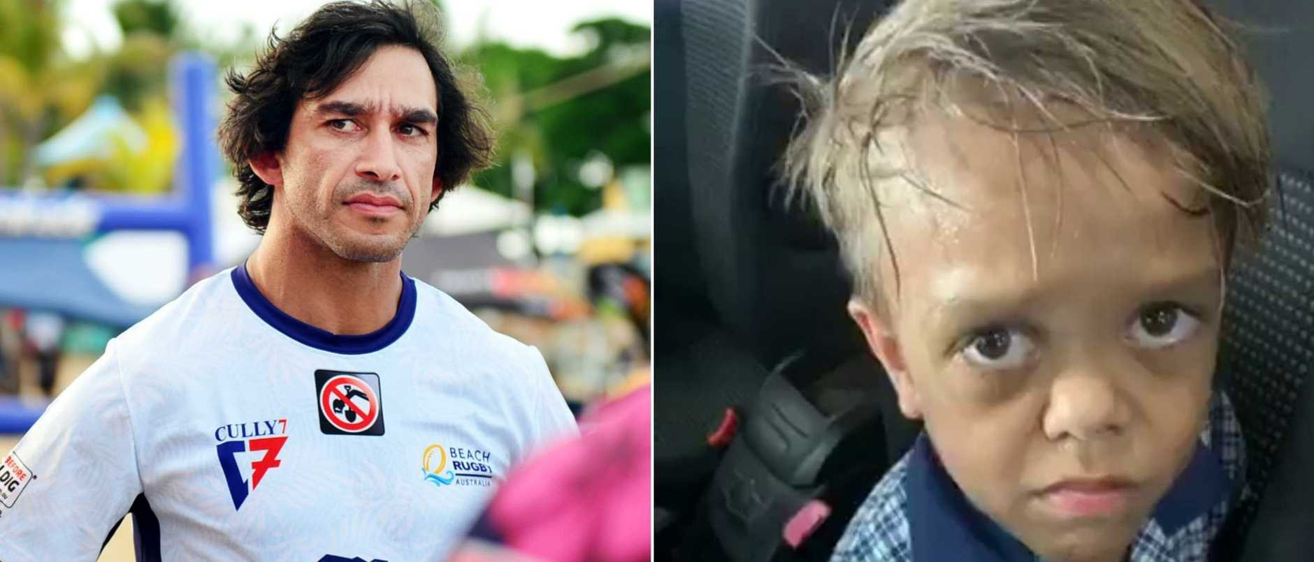 Johnathan Thurston has described the bullying of Quaden Bayles as heartbreaking.