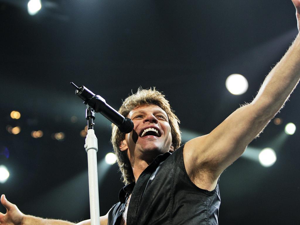 Jon Bon Jovi. Picture: AP