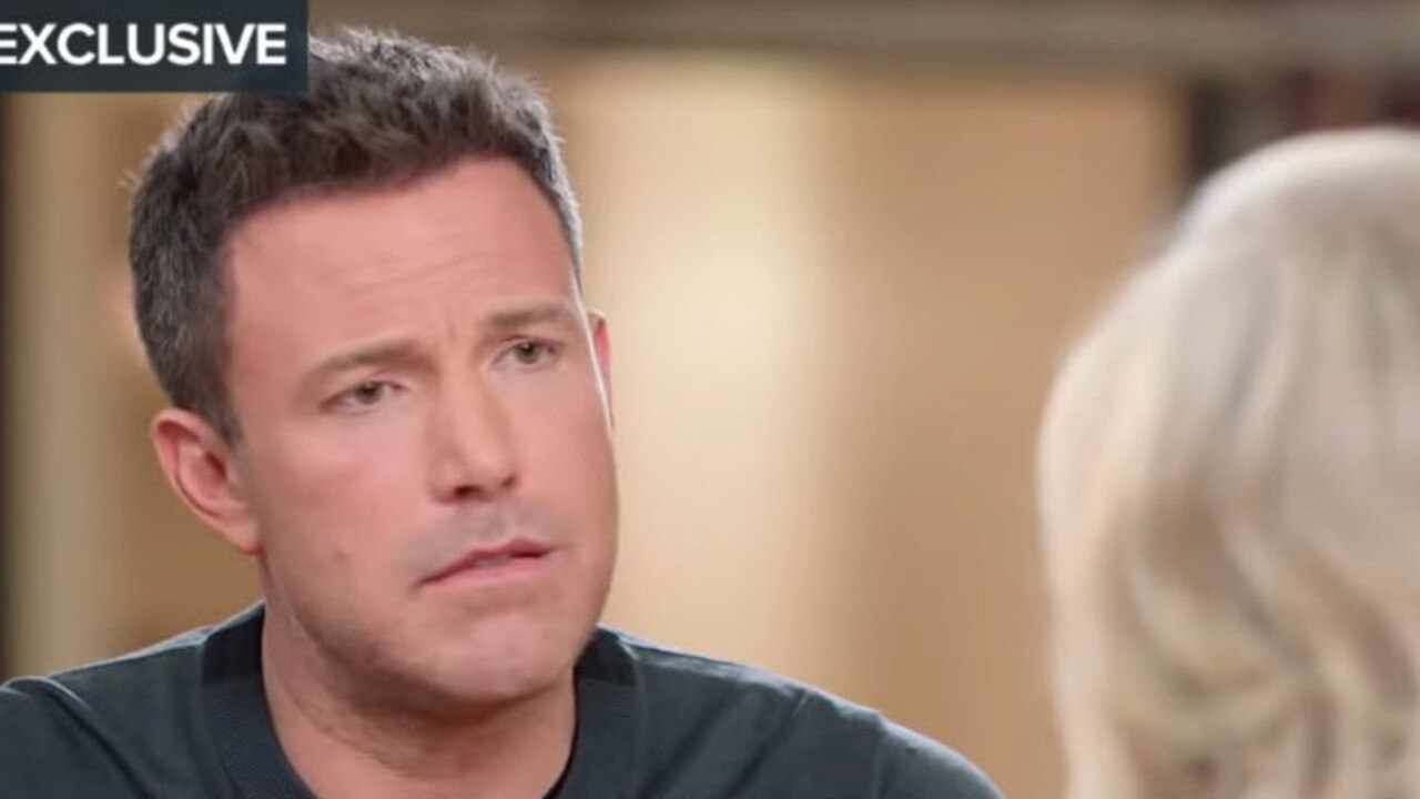 Ben Affleck spoke emotionally about his divorce during the interview.