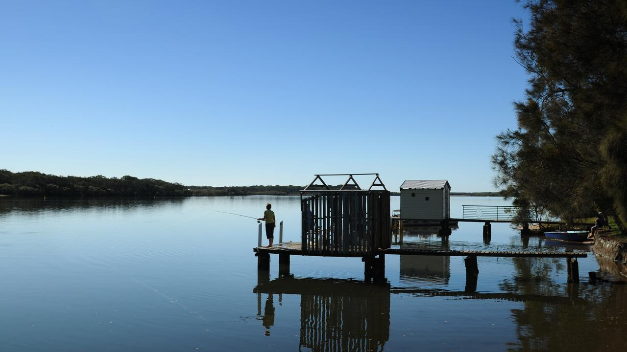 The Maroochy River boathouse jetties are among the dozens of places proposed for local heritage listing.