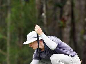 GOLF: Round 3 of Queensland Open. James Anstiss.