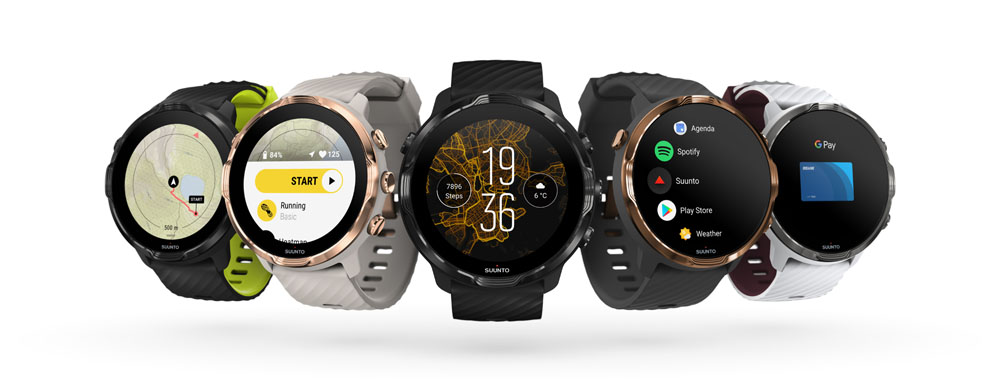 The Suunto range has something for everyone, though the grey and copper is about spot-on, I'd say.