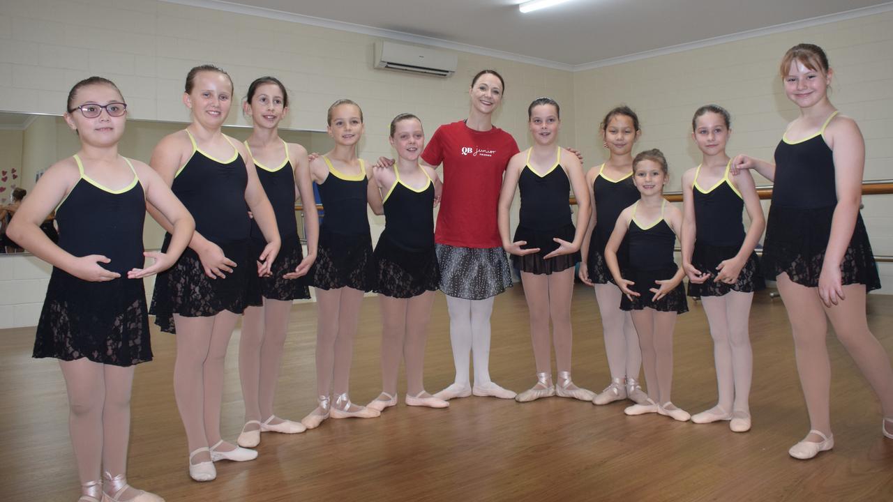 Queensland Ballet Workshop at the Kingaroy Dance Academy. (Picture: Tristan Evert)