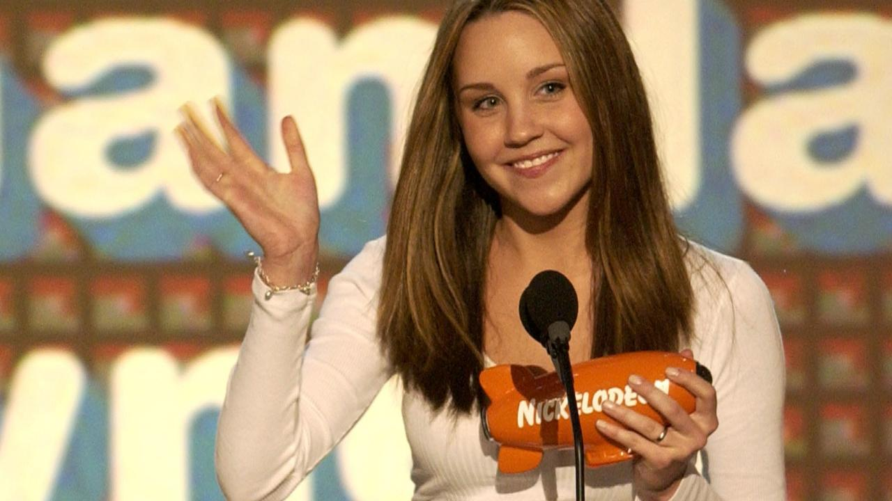 Bynes won the Favourite Movie Actress award at the Kids' Choice Awards several times. Picture: Chris Pizzello/AP