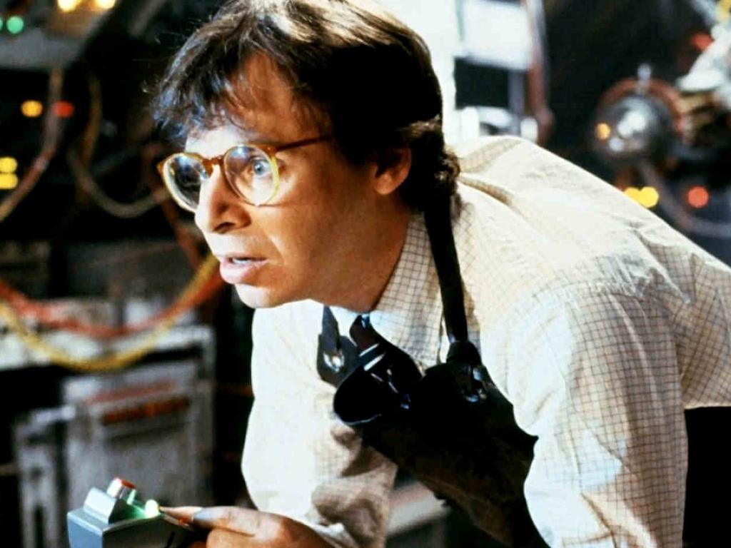 Comedian Rick Moranis was originally cast as the janitor. Picture: Supplied