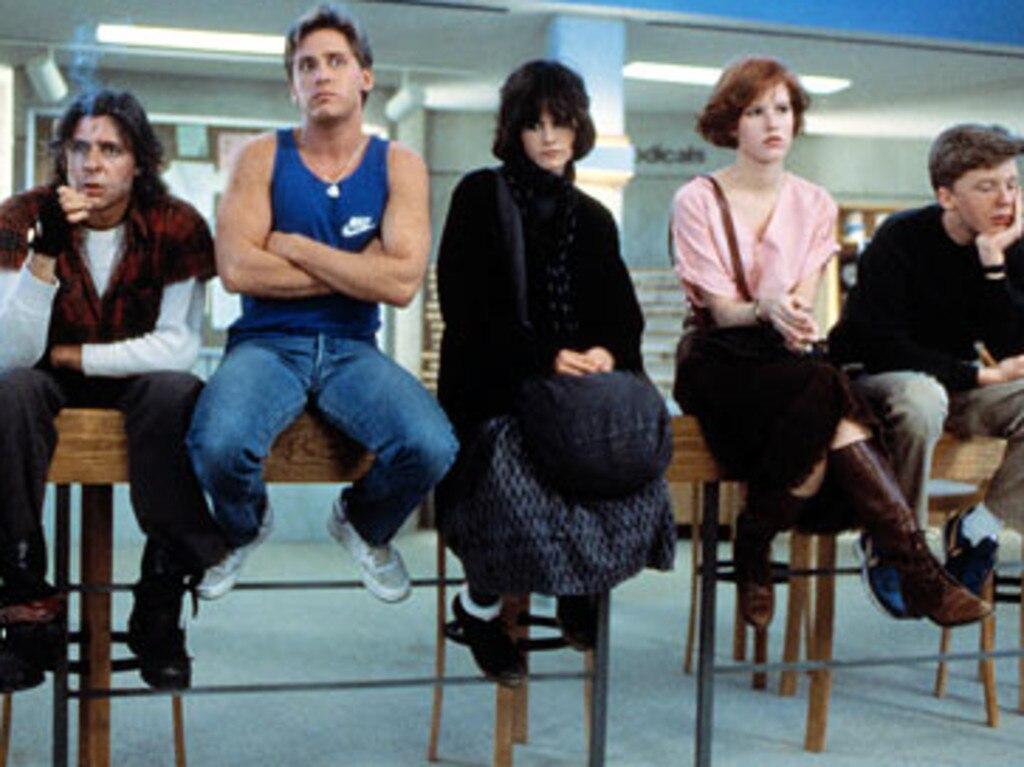 The Breakfast Club cast.