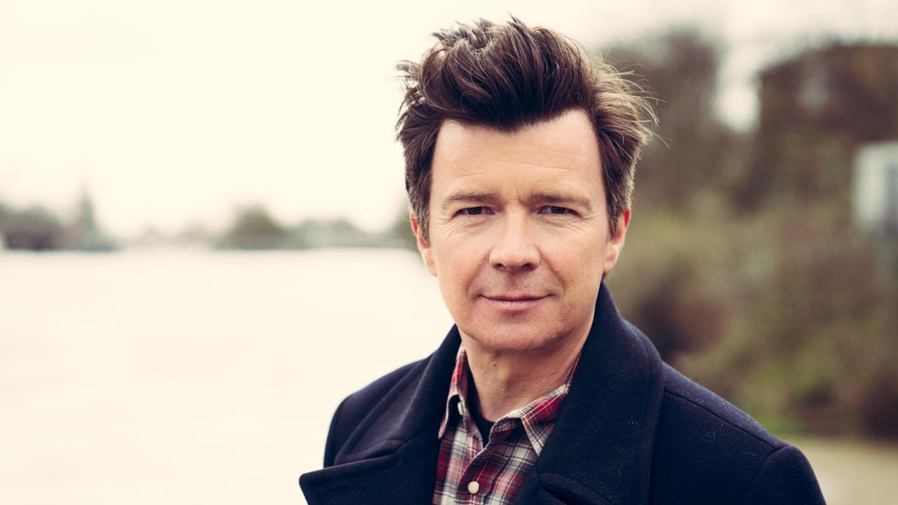 English singer and songwriter Rick Astley
