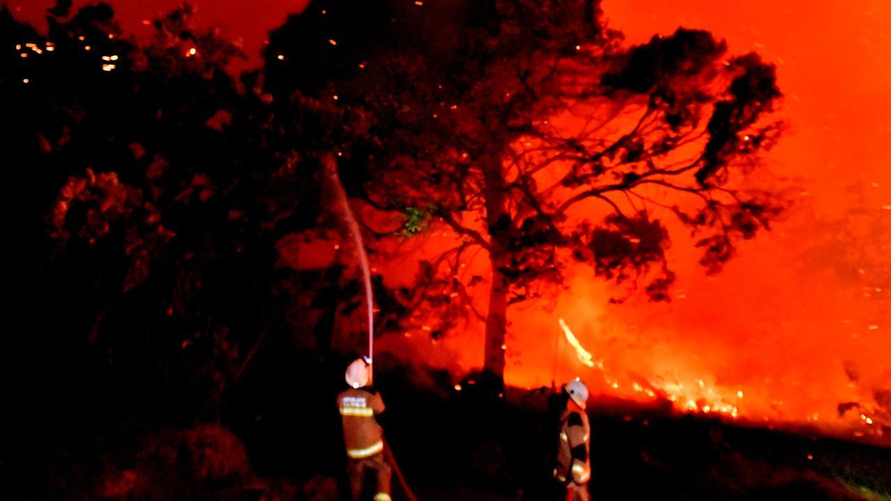 A monstrous and devastating fire ripped through Peregian Springs, Peregian Breeze and Peregian Beach.