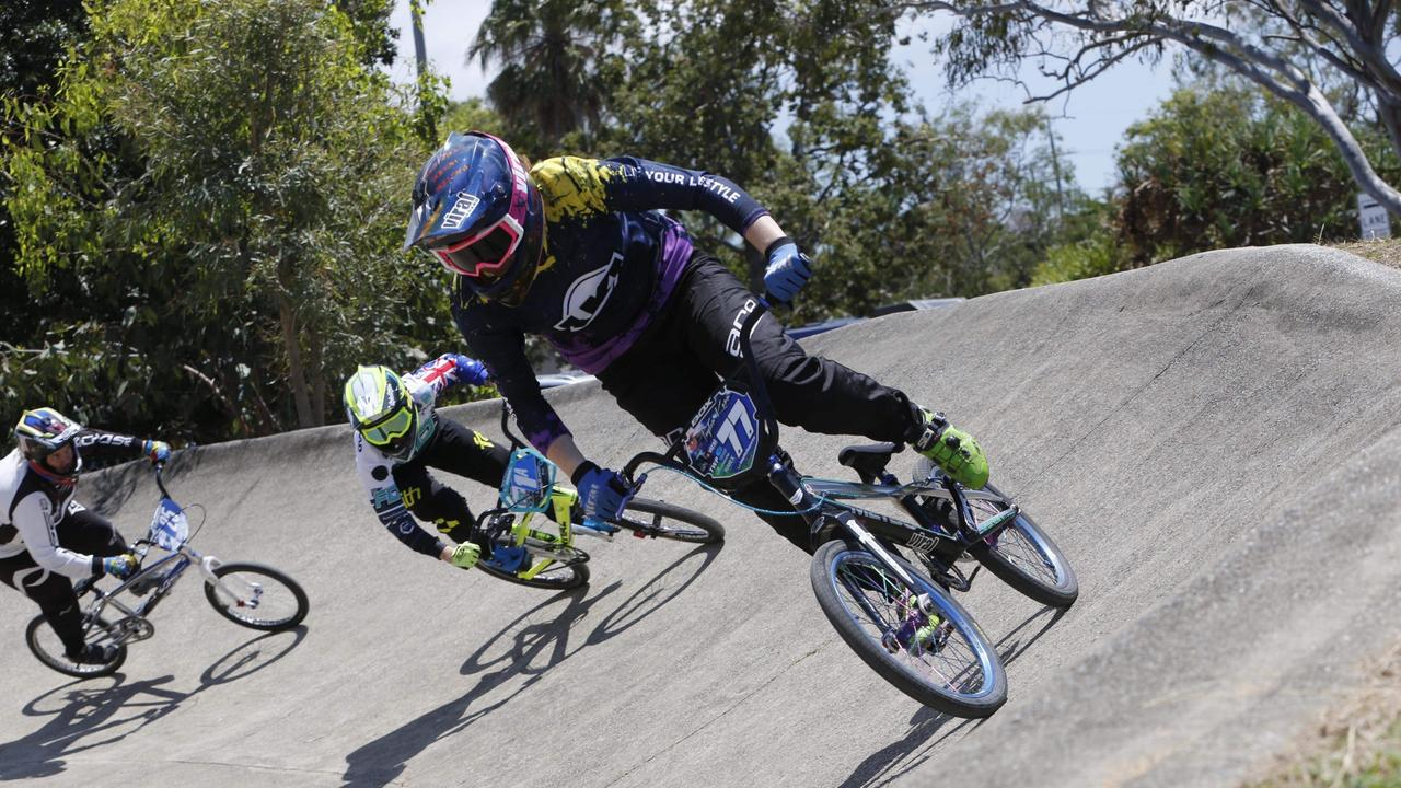 PEDAL POWER: Proserpine BMX rider Taylor Kerr, 19, has travelled to the United States for the sport. Picture: Reflex Photography
