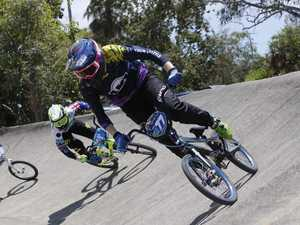 PEDAL POWER: Prossie BMX jumping to new heights