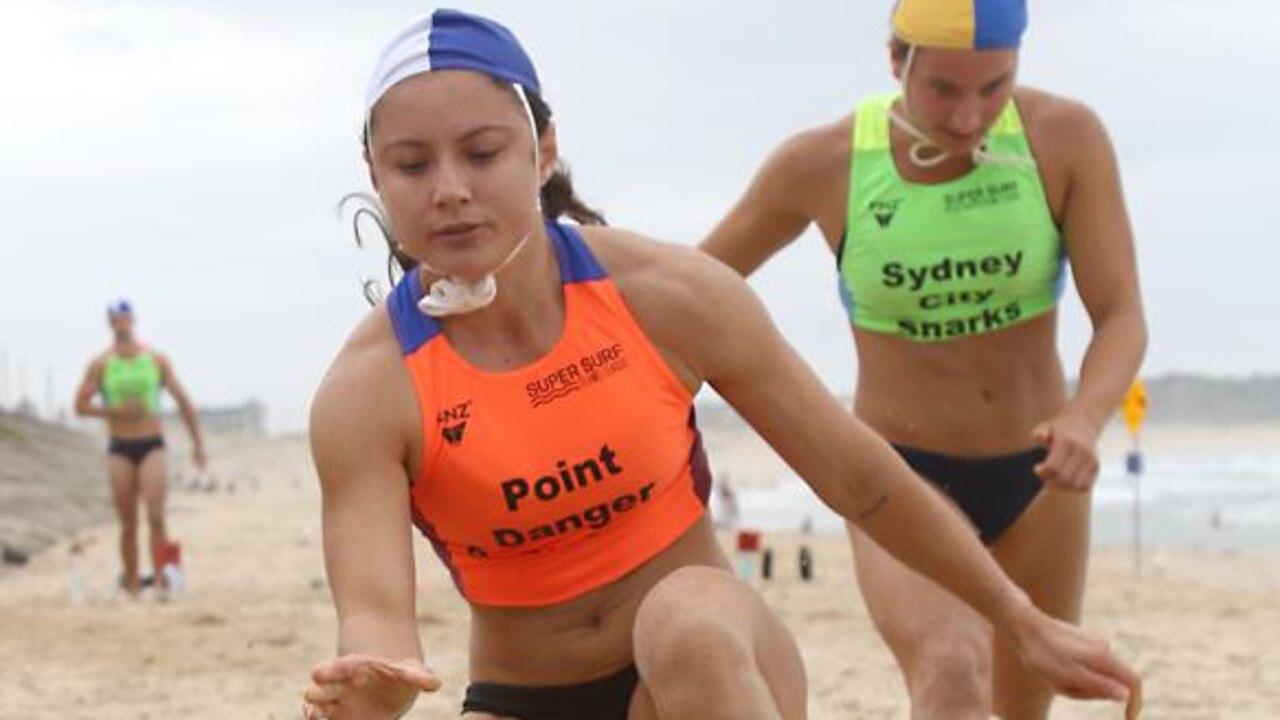 Female flags sprinter Elizabeth Forsyth. SUPPLIED.