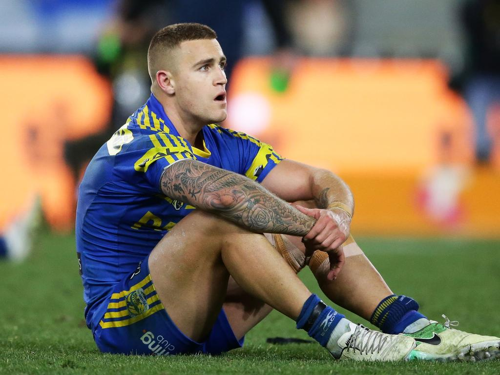 Cameron King played a total of 22 games for the Eels in the 2017 and 2018 seasons. Picture: Matt King/Getty Images