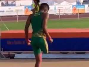 One-legged high jumper goes viral