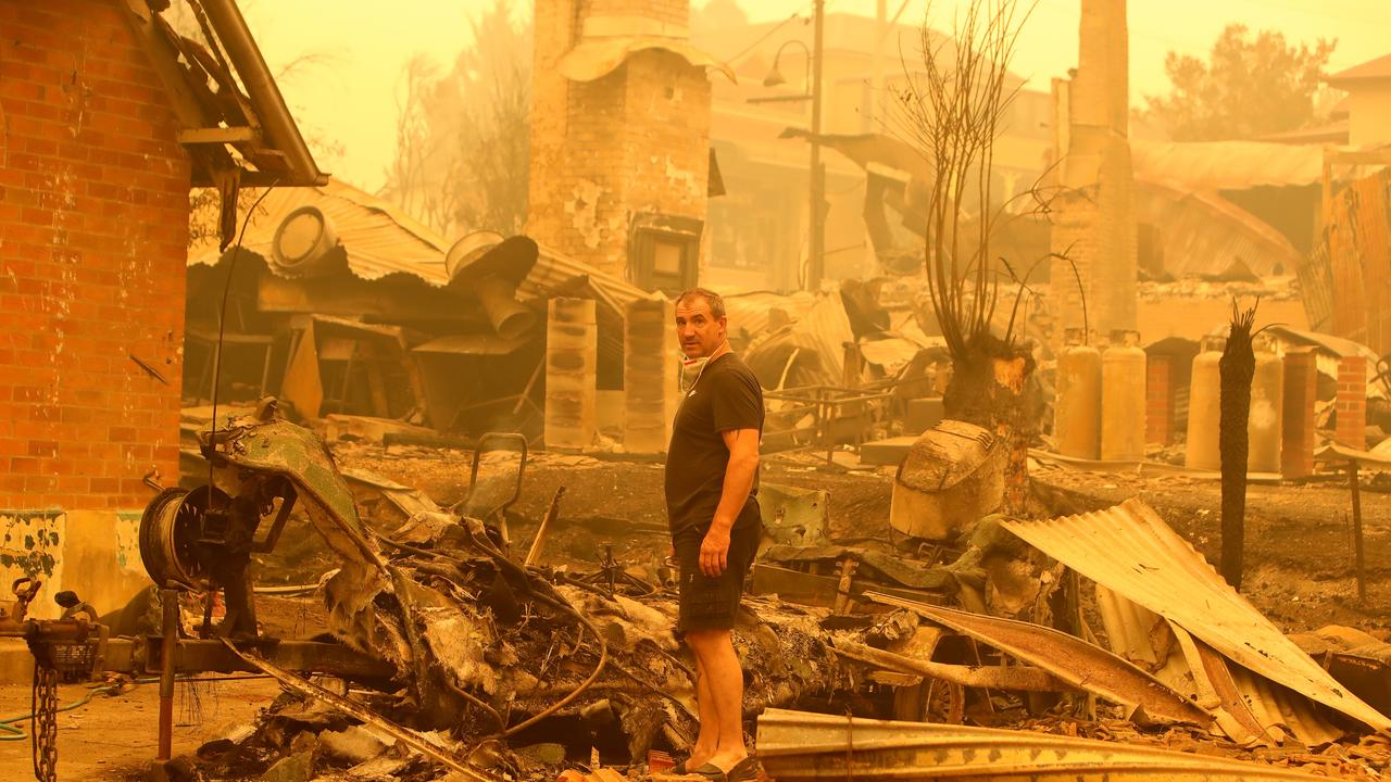 The rebuild bill for the state's bushfire crisis has hit $800 million.