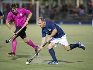 Garth Miller, Strikers. GCC Pink Bats vs Stafford