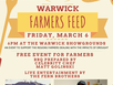 A free BBQ for Warwick farmers prepared by Celebrity Chef, Matt Golinski.