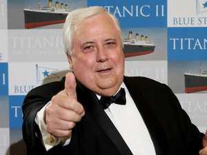 Albo to ban Clive Palmer's 'obscene' spending