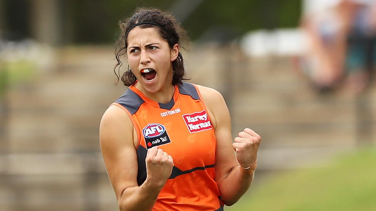 Rebecca Privitelli was the star for GWS Giants in their victory over West Coast.